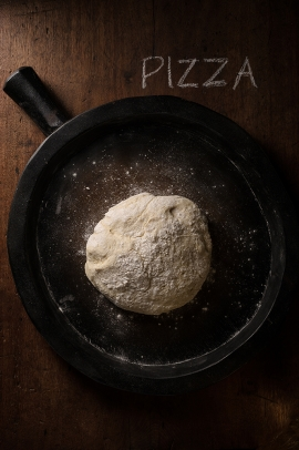Photo culinaire - Pâte à pizza